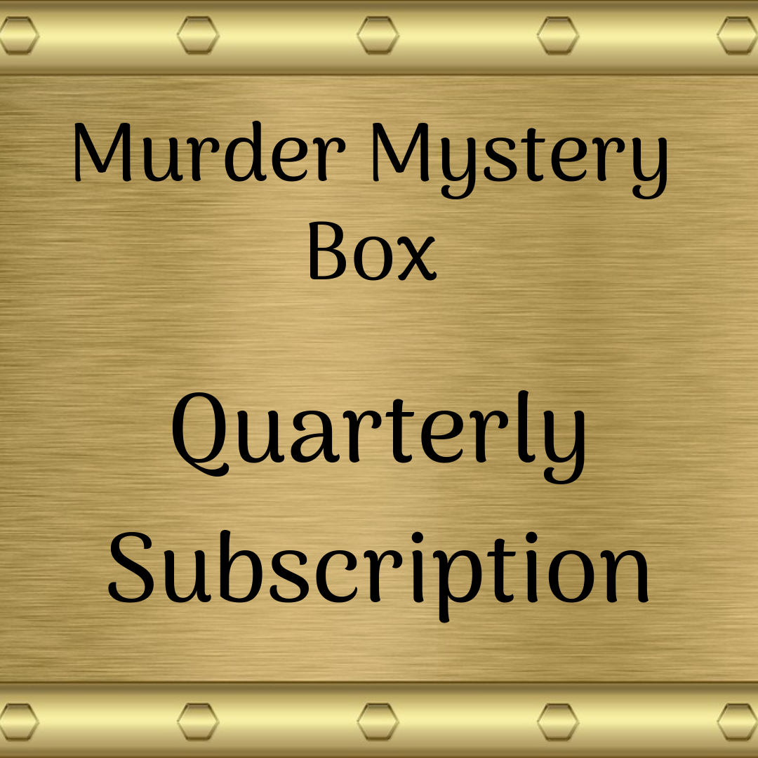 Murder Mystery Subscription